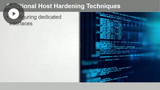 Integrating Security Controls for Host Devices