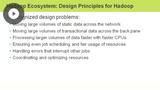 Hadoop Design Principles