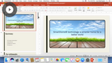 Configuring PowerPoint
