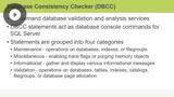 Managing Database Integrity