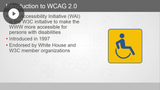 WCAG 2.0 Accessibility Standards