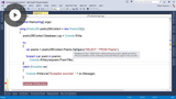 Working with Entity SQL