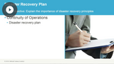 Disaster Recovery Planning & Backups