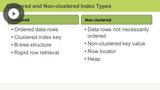 Index & Statistical Management