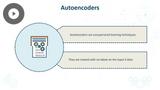 TensorFlow: Building Autoencoders