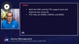 SNCF: NAT, QoS, VPN, & Device Management