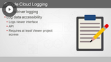 Google Cloud Architect: Monitoring & Logging