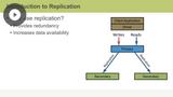 Replication & Security