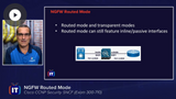 SNCF: NGFW Modes, Interface Types, & Link Redundancy