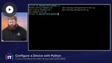 DEVASC: Configuring Devices with Bash, Python, & Ansible