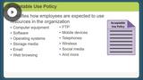 Policies, Plans, & Procedures