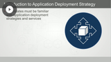 Application Infrastructure
