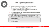 DSP Tag Library