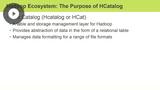 HiveServer2 & HCatalog