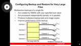 Performing & Managing Backups