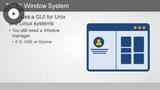 The Unix Command Line & GUI