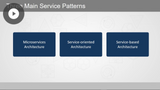 Core Concepts of a Service-Oriented Architecture
