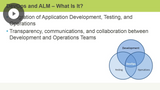 Getting Started, Integrated ALM, & Fast Feedback