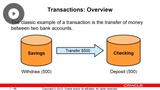 Transactions & Application Building