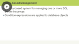 Policy-based Management & Performance Monitoring