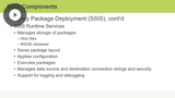 SSIS Components