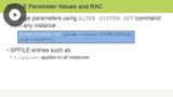 RAC Initialization Parameters