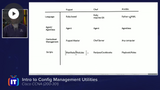 CCNA 2020: Configuration Management & JSON Encoded Data