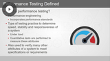 Performance Testing & JMeter