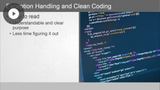 Clean Coding Techniques: Functions, Type Checking, Error Handling, & Testing