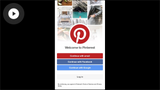 Using Pinterest for iOS
