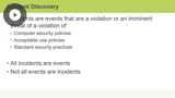 Incident Response & Recovery
