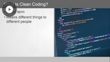 Clean Coding Techniques: Introduction