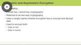 SSCP: Cryptography