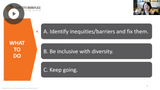 Advancing Meaningful Diversity In The Workplace: Session Replay