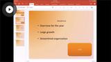 Formatting Presentations