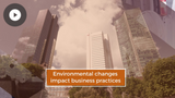 The Effects of Environmental Change on Business